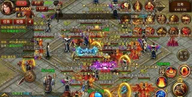 传世官网的镇魂大殿副本让玩家不断提升实力