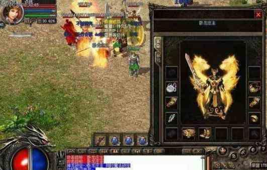 战士如何在游戏中高效打装备 传奇世界中变 第1张