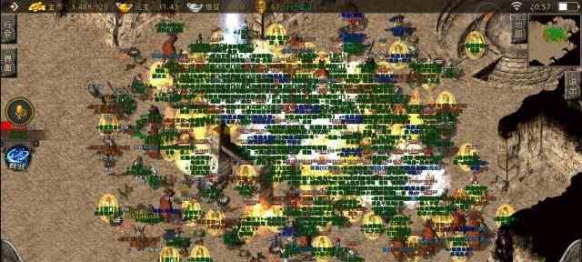 传奇世界官网的魔法师轻松干掉战士 传奇世界官网 第1张